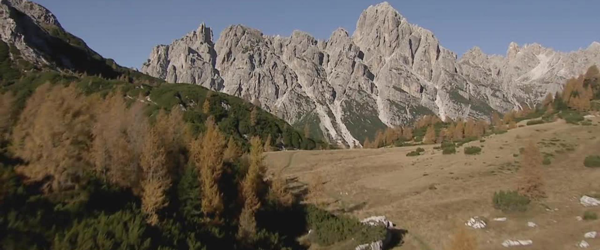 In volo sulle Dolomiti Bellunesi