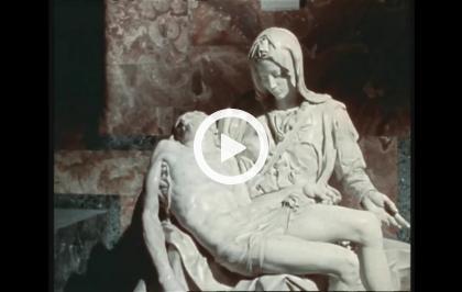 Il restauro della Pietà